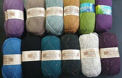 £2.20 • Buy CLEARANCE King Cole Moods 100g DK Double Knit Balls - Choice Of Colours