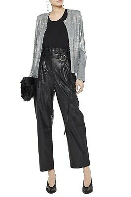 $ CDN530.55 • Buy IRO Frayed Sequined Jersey Jacket Size FR 38 US 6 MSRP $750 NEW