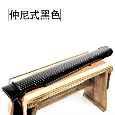 AU444.99 • Buy Chinese 7 String Instrument Zhongni Style Guqin /candlenut Wooden Guqin Stand