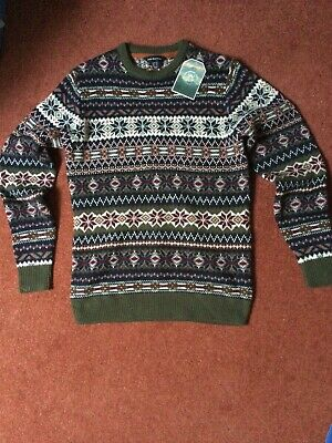 $20.80 • Buy Mens Christmas Jumper Size Extra Small