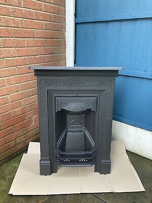Victorian/edwardian Cast Iron Bedroom Fireplace (free Delivery) • 345£