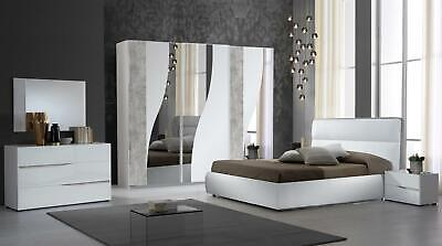 £1299 • Buy Modern Full Italian Bedroom Set With Free Delivery