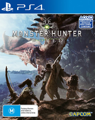 AU43.95 • Buy Monster Hunter World PS4 Game USED