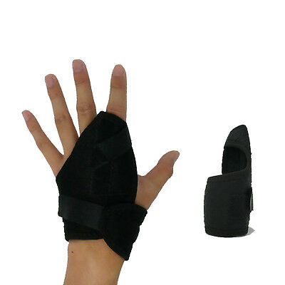 Hand Brace With Finger Support Strap Arthritis Carpal Tunnel Pain Relief RSI  • 7.17£