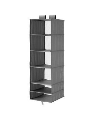 IKEA SKUBB 6 Compartment, Hanging Wardrobe Clothes Organiser FAST Tracking • 14.99£