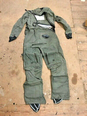 Aircrew Immersion Coverall Suit MK10A Size 7 91 X 99cm 180 To 188cm (S3) • 40£