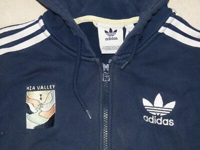 Mens Adidas HZA Valley Hooded Hoodie Full Zip Track Top Jacket. Size XS • 1.99£