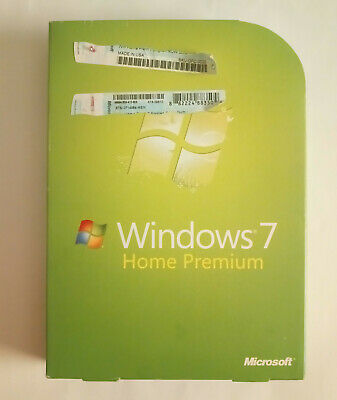 Microsoft Windows 7 Home Premium OEM Installation Upgrade DVD Set 32 & 64 Bit • 28.65£