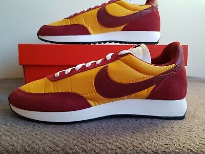 Nike Air Tailwind 79 - UK Size 9.5 - 487754 701 - Uni Gold/Red - Waffle/Daybreak • 74.99£