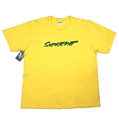 $ CDN78.20 • Buy FW20 Supreme Futura Logo Tee T Shirt Size XL Yellow Green Justice For All