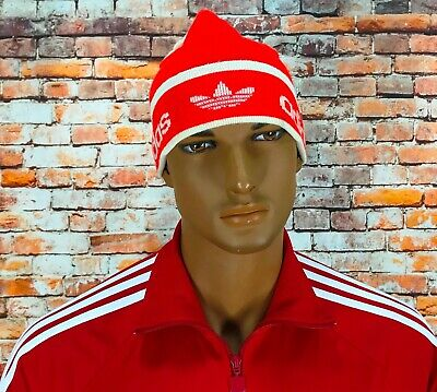 Rare Vintage Very Old 70s 80s Adidas Originals Orlon West Germany Red Hat Cap • 35.77£