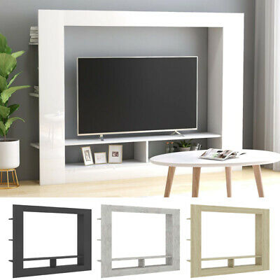 £86.40 • Buy TV Cabinet TV Unit Wall Stand Sideboard Cupboard Shelving Living Room Furniture