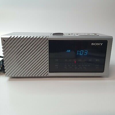 Sony Digimatic ICF C16L Alarm Clock Radio 146780 Tested Vintage Cool Retro 80s • 14.99£