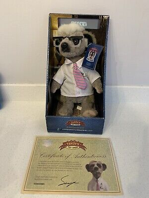 YAKOV'S Toy Shop - Sergi. Compare The Meerkat Soft Toy • 3£