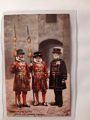 Military Yeomen Of The Guard Postcard • 0.99£