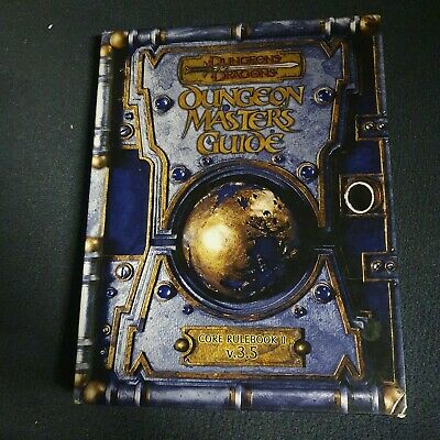 AU54.18 • Buy Dungeons And Dragons Dungeon Masters Guide 3.5 Core Rulebook 2 Wizards