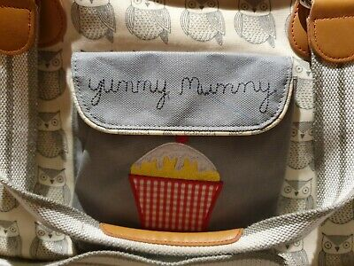 Yummy Mummy - Pink Linning (mothercare)        Baby Changing Bag  • 9.99£