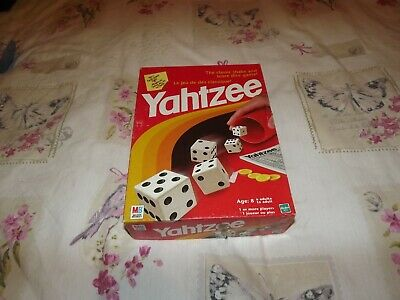 1998 Yahtzee By Mb / Hasbro Games In Good Condition • 7£