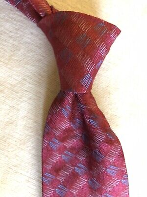 £56.64 • Buy Charvet Tie Red With Splashes Of Blue And Silver  NWT NEW
