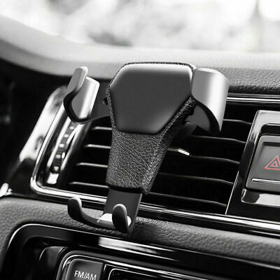 AU9.35 • Buy Universal Gravity Car Holder Mount Air Vent Stand Cradle For Mobile Cell Phone*