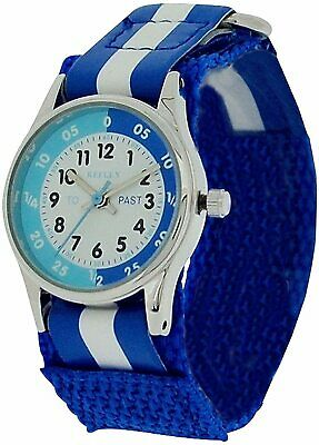 £7.20 • Buy Unisex Watch BLUE Time Teacher Tutor Kid Childrens Learn How To Tell The Time