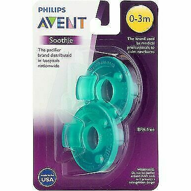 AU3.19 • Buy Philips Avent Soothie 0-3 Month Calm Baby Pack Of Two