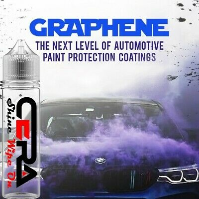 $19.95 • Buy Graphene Ceramic Car Coating Wipe On 9h Pro Grade Shine Protect Nano Armour