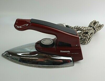 £19.99 • Buy Vintage Rowenta LA-21 Traveller Compact Collapsible Dry Iron - West German Made