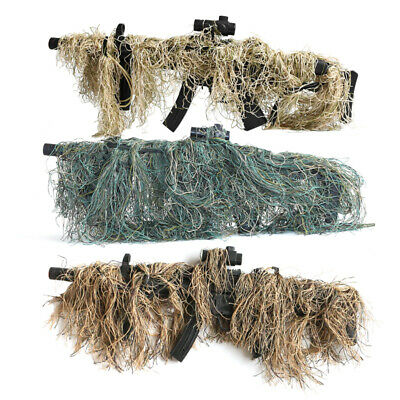 £6.49 • Buy Hunting Rifle Wrap Rope Ghillie Suit Gun Cover CS Camouflage Hunting Accessories