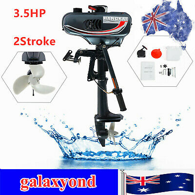 AU307 • Buy 2 Stroke 3.5HP Outboard Motor Fishing Boat Engine+CDI System Water Cooling