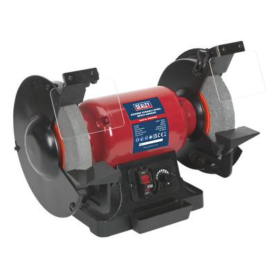 Sealey BG200WVS Bench Grinder 200mm Diameter Variable Speed • 129.95£