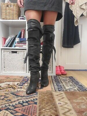 £150 • Buy Chloe Leather Knee High Boots