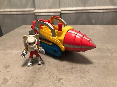 Marvel Avengers Imaginext Iron Man Repulser Drill Vehicle And Figure • 9.99£