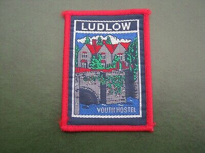 Youth Hostels Association (yha) - Ludlow Youth Hostel Cloth Badge/patch • 3.50£