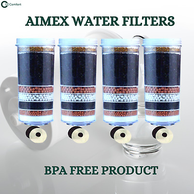 AU80 • Buy 8 Stage Water Filter Cartridges Ceramic Prestige Purifier KDF Charcoal Activated