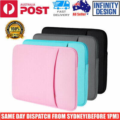 AU18.95 • Buy New Laptop MacBook NoteBook Sleeve Bag Travel Carry Case Cover 13 14 15 16 Inch