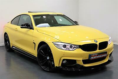 2014 BMW 430d M Sport XDrive DAKAR YELLOW - PX SWAP - FINANCE - WARRANTY  • 18,485£