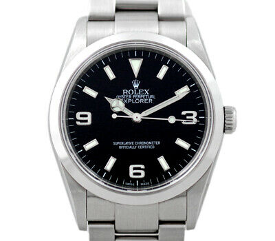 $ CDN11413.59 • Buy ROLEX Explorer 1 I EXPLORER1 114270 Z Generation Black Men From Japan N1119