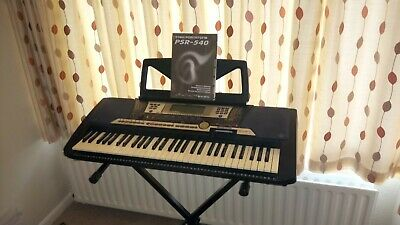 Yamaha Portone Psr 540 Keyboard With Stand • 46£