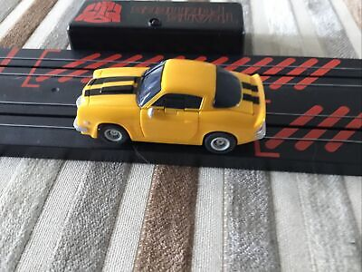 Micro Scalextric Transformers Bumblebee  Working 1:64 • 7.99£
