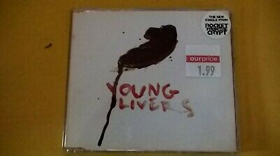 Rocket From The Crypt - Young Livers CD Single • 0.99£