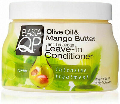 £7.55 • Buy Elasta QP   Olive Oil And Mango Butter Anti Breakage Leave In Conditioner 425g