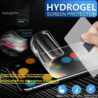 For Huawei P30 P20 P40 Lite Pro Mate 20 30 40 Hydrogel Film Screen Protector TPU • 2.99£