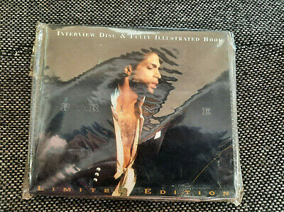PRINCE Collectors 1996 Limited Edition Interview Disc & Photo Book New Unopened • 28.94£
