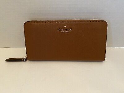 $ CDN95.55 • Buy Kate Spade New York Jackson Large Continental Leather Wallet Warm Gingerbread