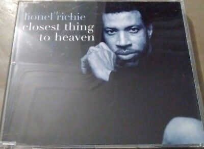 Lionel Richie 'Closest Thing To Heaven' Promo CD Single (1998) **With PR Sheet • 0.39£