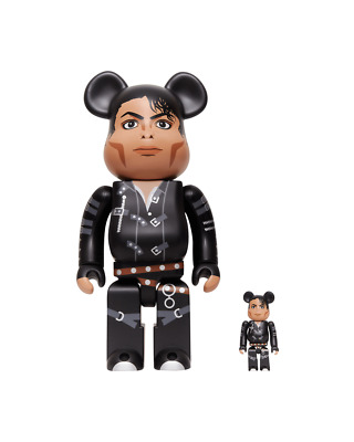 $199.99 • Buy Michael Jackson BAD Bearbrick 400% 100% Medicom Be@rbrick Rare Limited Sold Out