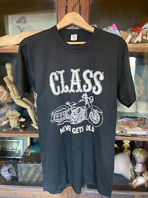 $ CDN26.77 • Buy Vintage Mens Chopper T-shirt Motorcycle Harley Davidson NOS Large 1980's 90's