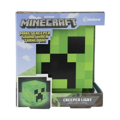 AU35 • Buy Minecraft Creeper Light - Brand New In Box - FREE SHIPPING