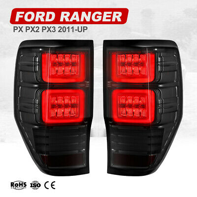 AU269.99 • Buy VLAND LED Tail Lights Suit Ford Ranger Raptor PX1 PX2 PX3 2011-2020 Smoked